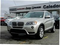2011 BMW X3 28i XDRIVE PANORAMIC ROOF BLUETOOTH BACKUP CAMHEAT
