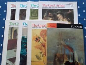 7 of The Great Artists series and a book on Turner