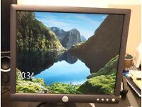 2 x Dell 17in 4:3 LCD VGA monitors