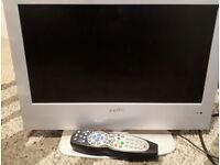 19inch tv with freeview and built in dvd player