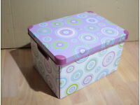 STORAGE CRATE BOX from Curver Boxes, a psychedelic Deco pink-purple model