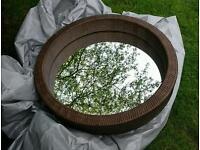 Ikea Melbu round mirror
