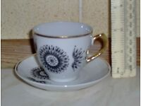 Bone china coffe set
