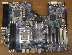 Z600 Workstation combo 32GB DDR3, 6 core X5650 CPU I'm selling only motherboard memory and cpu