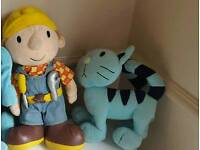 Bob the Builder and Pilchard the Cat