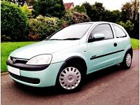 Gorgeous Corsa : Low Mileage : Great Mechanically : 50 MPG : Drives Excellent