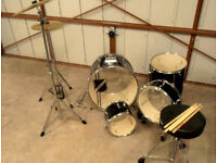 """MILLENIUM"" DRUM & CYMBAL SET - NEARLY NEW"
