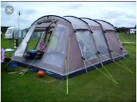 OUTWELL MONTANA 6 in mocca USED ONCE inc footprint carpet and full camp setup