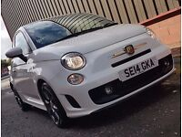 2014 (14) Abarth 500 1.4ltr T-Jet Turbo, 136bhp