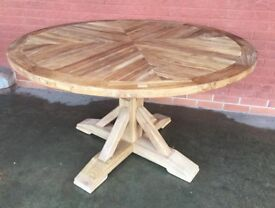 Gorgeous Reclaimed Elm Dining Table.