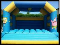 15 x 18 adult bouncy castle (full setup blower, mat, pegs, and lead)