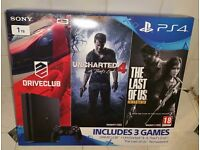 SONY PS4 SLIM 1TB (WITH 3 GAMES) BRAND NEW SEALED