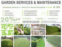 Garden service in Manchester , Trafford , Cheshire , Altrincham , Hale , Sale, Stretford and more!!