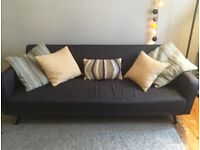 Amazing Made Sofa Bed. One year old, but in super condition. Elegant and practical!