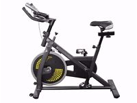 Spinning Bike : Aerobic Resistance training Home Workout Cycling Machine Ex Display