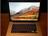 """Apple Macbook Pro Retina 15"""" 2015 16gb 256gb i7 office photoshop +More Included"""