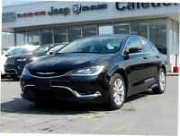 2015 Chrysler 200 C- Pano Roof+Rear View Cam+Bluetooth Media