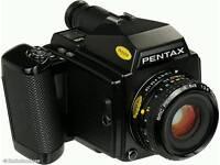 Pentax 645 swap