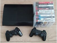 PS3 Sony PlayStation + 12 games