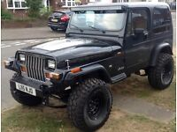 Wrangler jeep V8 QUAD-CAM - 4.0 AUTO yj Modified - square light - Lexus powered engine and gearbox