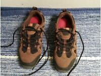 Kids Karrimor Walking Shoes size 3 UK excellent condition