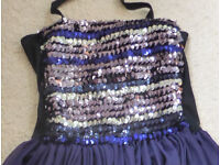 2x Ballet dance dresses for age 10-12 years with sequin bodice (£18 for two)