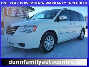 2010 Chrysler Town & Country Touring heated leather, power slidi