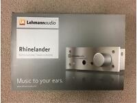 Lehmann Audio Rhinelander Headphone Amp Black