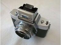 agfa flexilette ' twin lens reflex 35 mm film camera