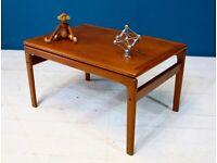 Danish Mid Century Teak Coffee Table by Trioh Retro Vintage 60s