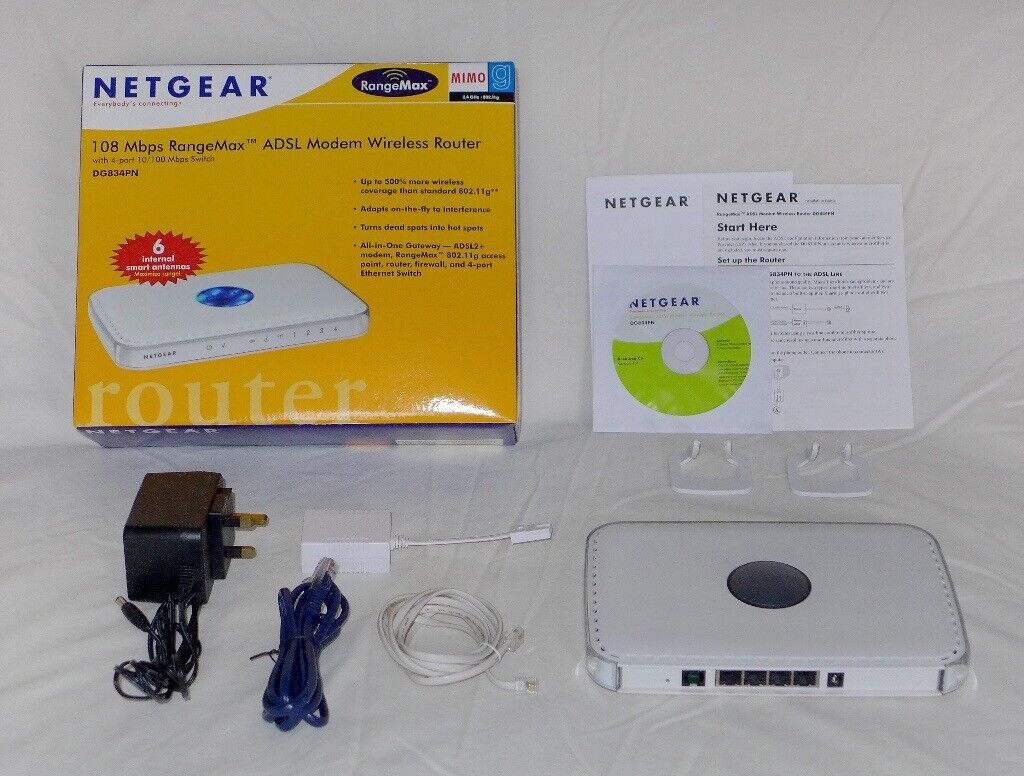 NetGear DG834PN Wireless ADSL Router
