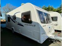 **SOLD** 🏕❇️ 2013 Bailey Pegasus Rimini 4 berth Fixed Single Beds ❇️🏕