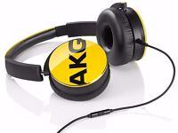 AKG Y50 on-ear headphones, yellow