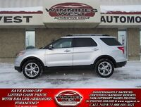 2011 Ford Explorer INGOT SILVER LIMITED 4X4, LOADED, LEATHER, SY