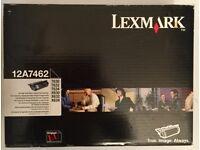 LEXMARK High Capacity Printer Toner Cartridge Black 12A7462