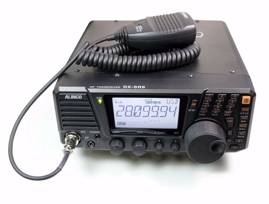 Alinco Dx-Sr8e Hf All Mode Transceiver