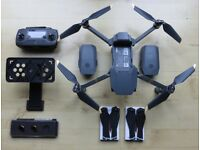 DJI MAVIC PRO PACKAGE WITH EXTRA'S