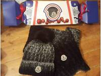 moncler hat and scarf sets