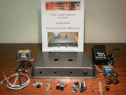 2W valve amp kit DIY:  Lamington Junior by Valve Heaven