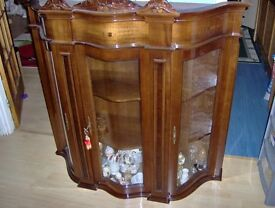 Glass Fronted Dispay Cabinet