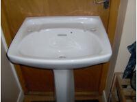 Pedestal basin