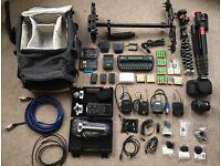 Camera equipment; complete starter kit