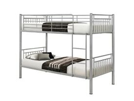 ⭕🛑⭕GET IT NOW⭕🛑⭕BRAND NEW Single Metal Bunk Bed with Mattress Options - SAME DAY DELIVERY!