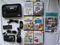 Sega master system 2 with 6 games !!!!