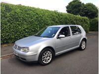 SILVER VOLKSWAGEN GOLF - LEATHER INTERIOR - BEAUTIFULLY CARED FOR :)