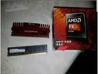 AMD FX 8350 CPU & 12GB DDR3 RAM MEMORY