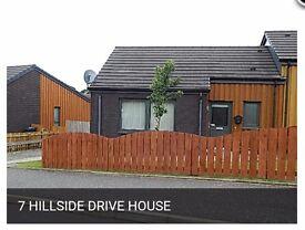 Semi-Detached 3 bedroomed House in new development Stranraer For Sale