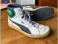Puma UK size 12 Vintage Hi-top trainers
