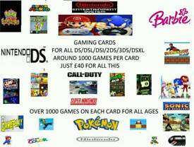 Nds game cards