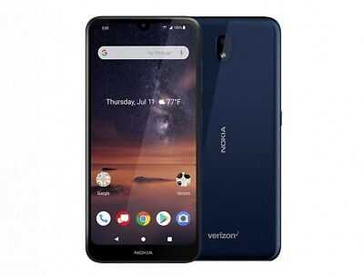 Nokia 3 V - 16GB - Blue (Verizon) Smartphone TA-1153